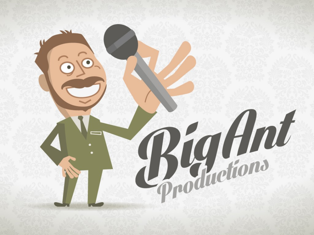 Big Ant Productions – Logo Design