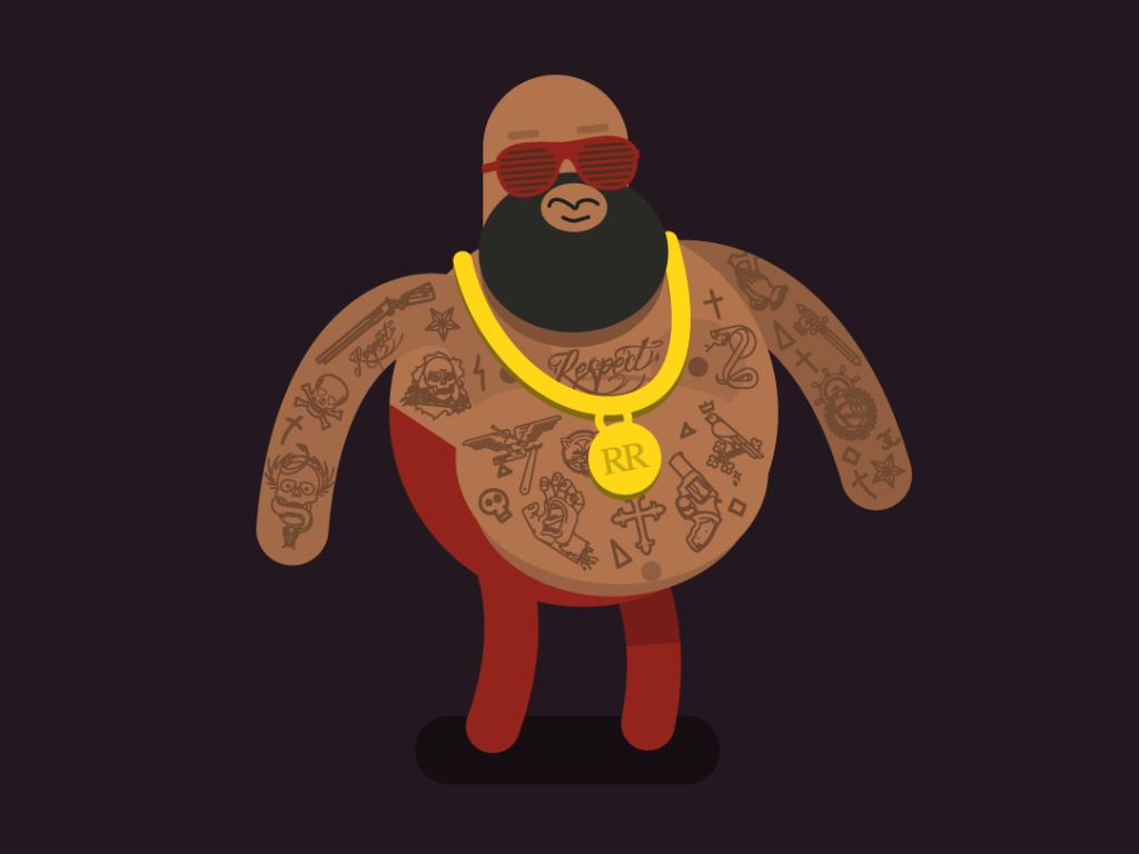 Slick Boss – Character Illustration