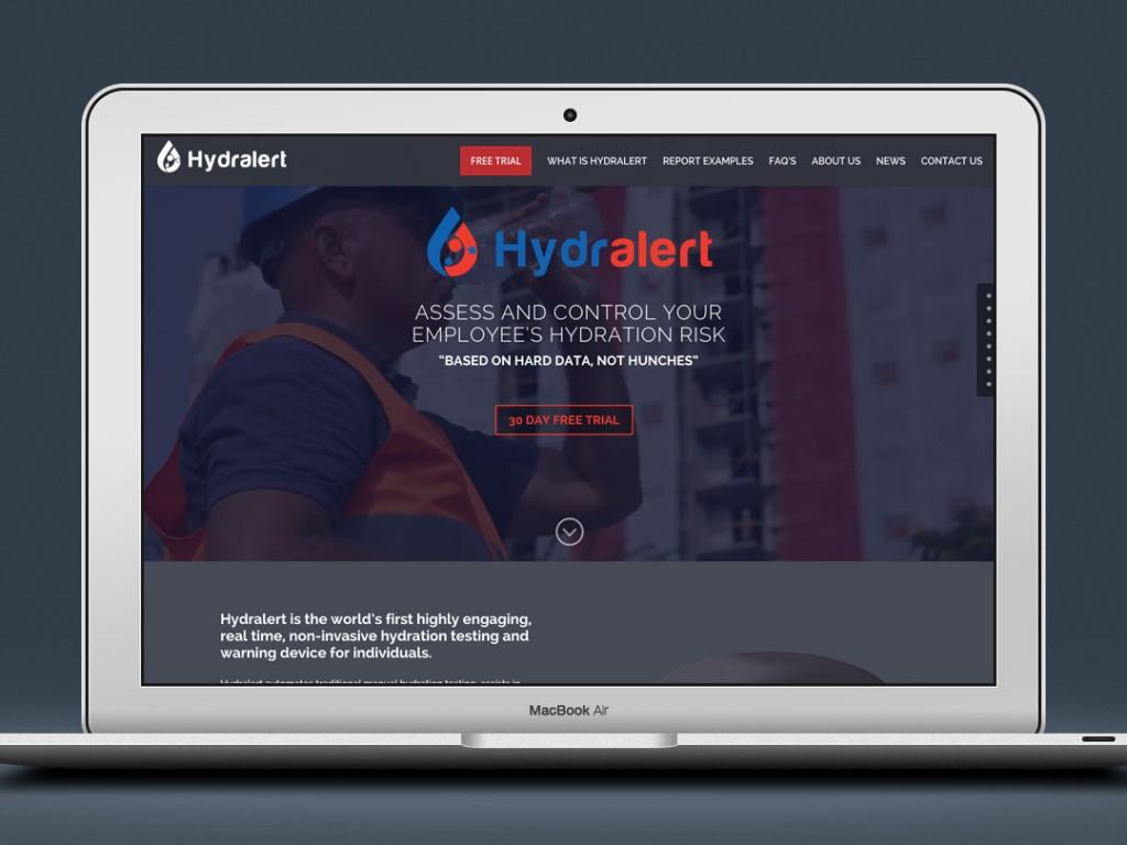 Hydralert – Web Design