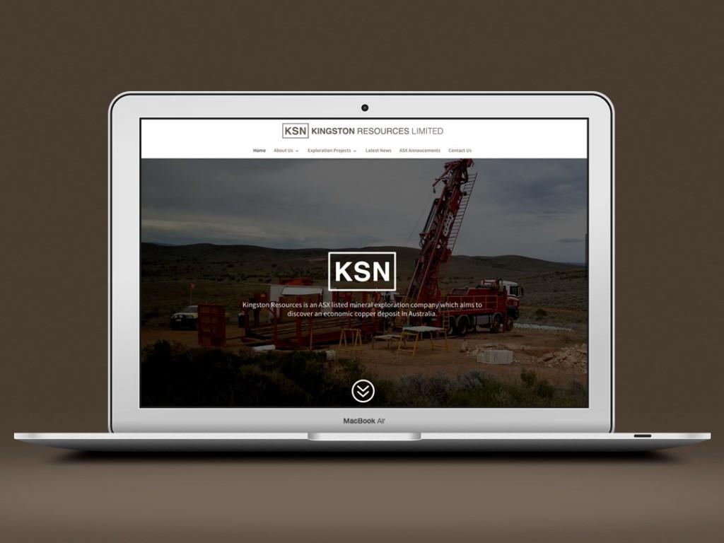 Kingston Resources – Web Design