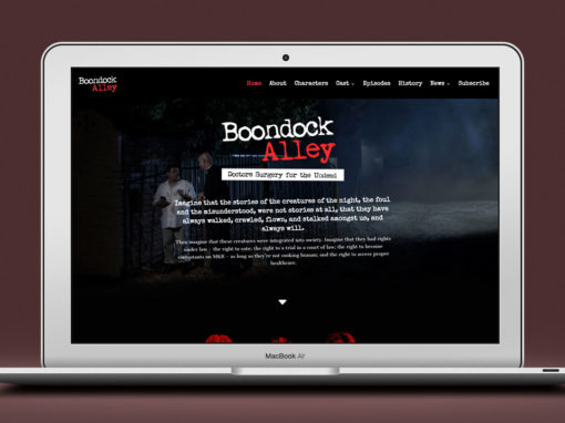 Boondock Alley – Web Design